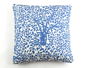 Quadrille China Seas Arbre De Matisse Pillows (shown in China Blue-Both Sides)