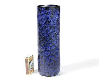 Monika Maetzel Own Studio Blue Pottery Artist Vase Germany Design Bauhaus Tradition 60s