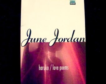 Haruko: Love Poems--by June Jordan