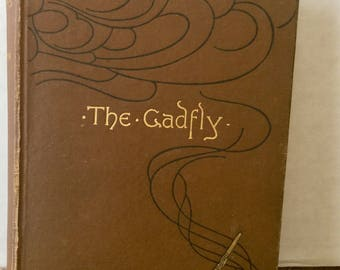 The Gadfly - Vintage novel from 1915  - by E. L. Voynich -