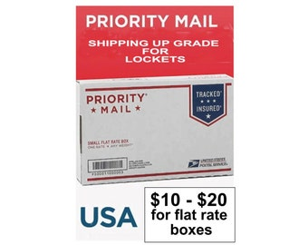 Optional Priority Shipping and RUSH Handling For Bridal/Boutonniere Lockets