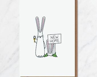 Hoppy New Home! card