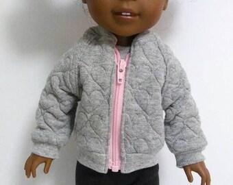Coat for Wellie Wisher Doll; Wellie Wisher Jacket