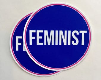 feminist | bad homebre, nasty woman | vinyl sticker
