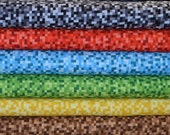 Michael Miller. Bitmap in Black, Red, Blue, Green, Yellow, and Brown - this is NOT a copyrighted, licensed Minecraft fabric