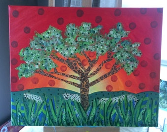 African Tree of Life (16x20)