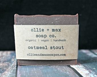 Oatmeal Stout Soap, Vegan Soap, Natural soap