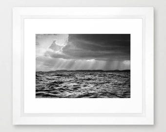 In Open Water Photography Print