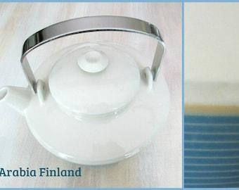 Arabia Finland Kombi Teapot Mid Century Modern