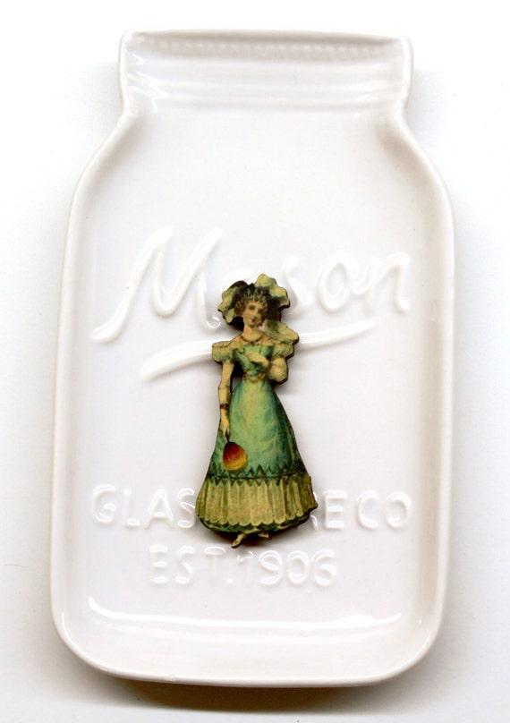 Victorian Lady #1 Needle Minder