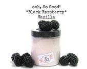 BLACK RASPBERRY VANILLA | Sugar scrub | foaming | exfoliate
