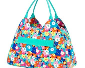Beach Bag Beach Tote Monogrammed Beach Bag  Monogrammed Canvas Bag Beach Bags