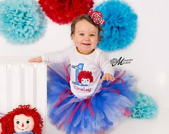 Red, Blue and White tutu, Newborn Tutu, Baby Tutu, Tutus for children, 1st birthday tutus, birthday tutu