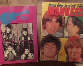 The Monkees Tale & Hey, Hey We're The Monkees 2 Soft Cover The Monkees Books