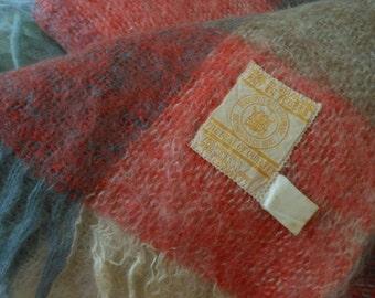 Vintage HUDSON BAY Mohair Throw Scotland