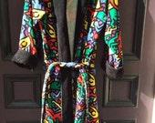 Keith Haring Vintage Men's Robe RARE