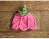 50% off Sample Sale - Newborn Size Tulip Hat - Pink