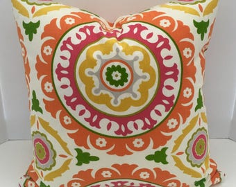 Decorative Pillow Cover in Fruit Punch
