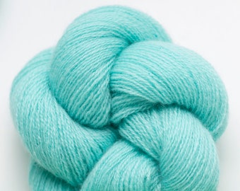 Island Aqua Recycled Cashmere Lace Weight Yarn, CSH00252