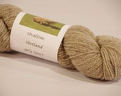 Ovaltine 3ply sport weight Shetland  Yarn from a PA Century Farm