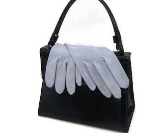 60s Blue Gloves Short Gloves Short  Dress Gloves 1960s Classic Gloves  Light Blue Gloves Short Blue Gloves Vintage Gloves Size Medium Gloves
