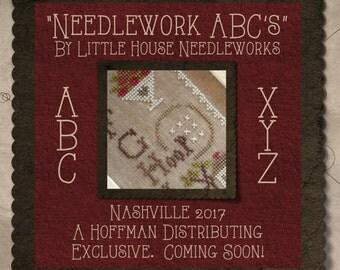 Needlework ABCs Nashville Market 2017 Little House Needleworks cross stitch pattern