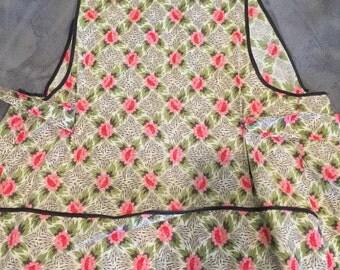 Vintage flour sack apron