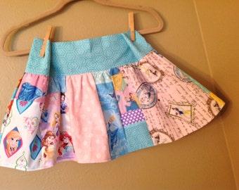 Every Princess skirt- 5t, 6, 6x ready to ship - Belle, Cinderella, Disney, Snow White,