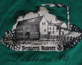 Vintage Rainer Brewery Lambertus Pilsner t shirt  XXL