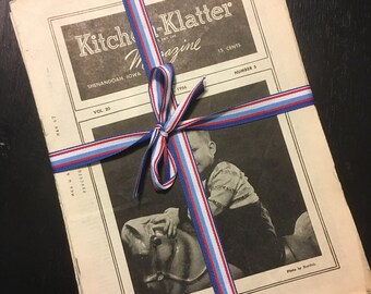 Vintage Kitchen Klatter Magazines