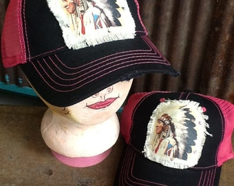 Hat Native American Headdress Cap