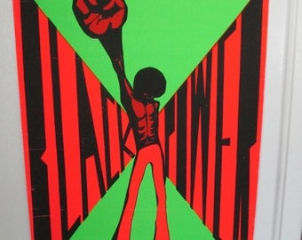 "Vintage Rare Original ""Black Power"" Poster"