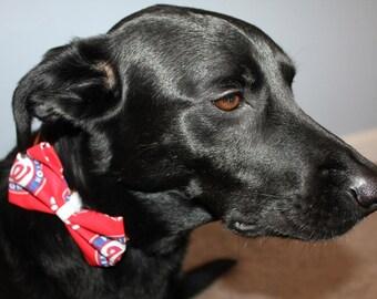 Washington Nationals Dog Bow/Bow Tie Accessory
