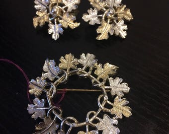 Sarah Coventry Brooch & Earrings Set
