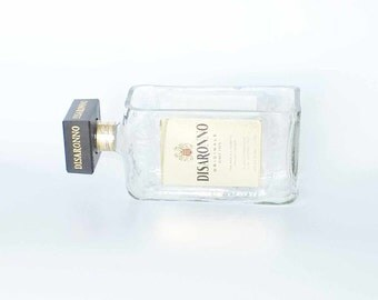 Disaronno etsy for How to cut glass bottles lengthwise