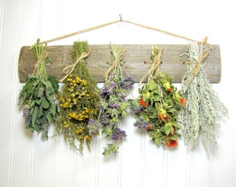 Dried Herb Rack, Rustic Drying Rack