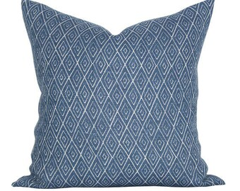 Atlas pillow cover in Indigo - ON BOTH SIDES