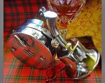 Vintage Spirit Optic, Old Whisky Pourer, Musical Spirit Measure, Auld Lang Syne, Best Man Gift, Scotch Wisky Collectors, Bottle Collectors