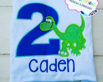 Arlo The Good Dinosaur Birthday Shirt