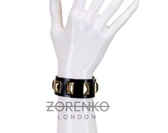 Latex Gold Rush Stud Bracelet