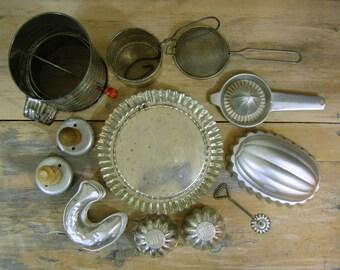 Vintage Kitchen Collection, Baking