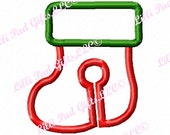 G-Tube Cover-Stocking- Applique - Machine Embroidery Design - 2 sizes