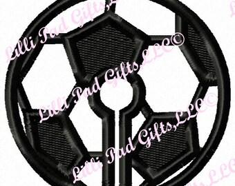 G-Tubenie Cover-Soccer Ball- Applique - Machine Embroidery Design - 2 sizes