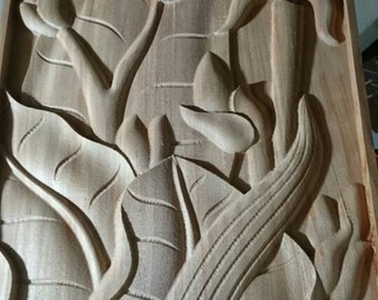 carved wall panel, home decor