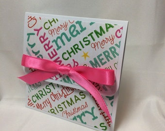 Many Wishes Christmas Gift Card Holder