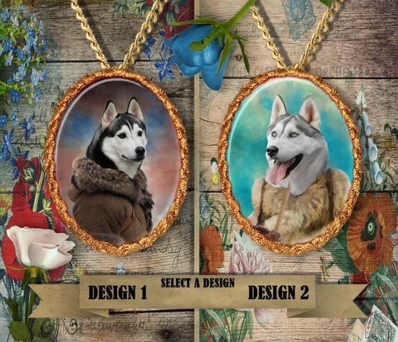 Siberian Husky Jewelry Personalized Husky Dog Jewelry Siberian Husky Dog Charm Husky Pendant Necklace Dog Lover Jewelry Nobility Dogs