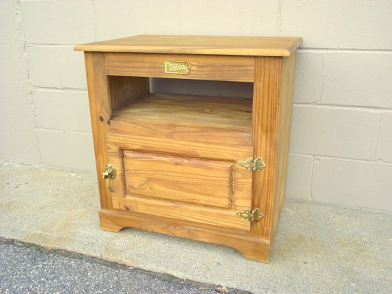 White Clad Icebox TV Stand Cabinet Credenza End Table