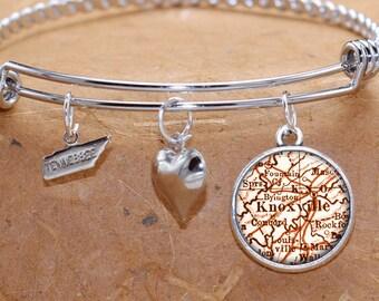 knoxville bracelet etsy