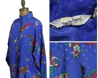 on sale 1980s Diane VonFurstenberg Blouse