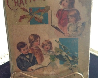 Little chatterers story book vintage child book
